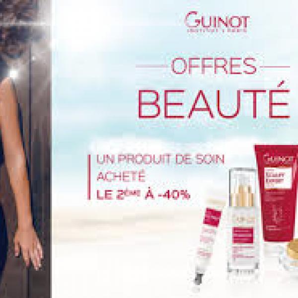 acheter populaire b119d f0715 Ofrres de beauté Guinot dans votre institut de beauté à Elven
